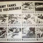 1942 Enemy Tanks Vulnerable poster
