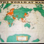 1943 February World at War map