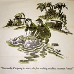 1944 WAC Cartoon detail