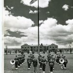 Adair Band with HQ Flagpole