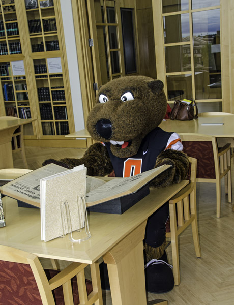 Benny The Beaver Visits Scarc And Transforms Into Benny