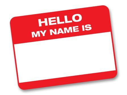 hello my name is: