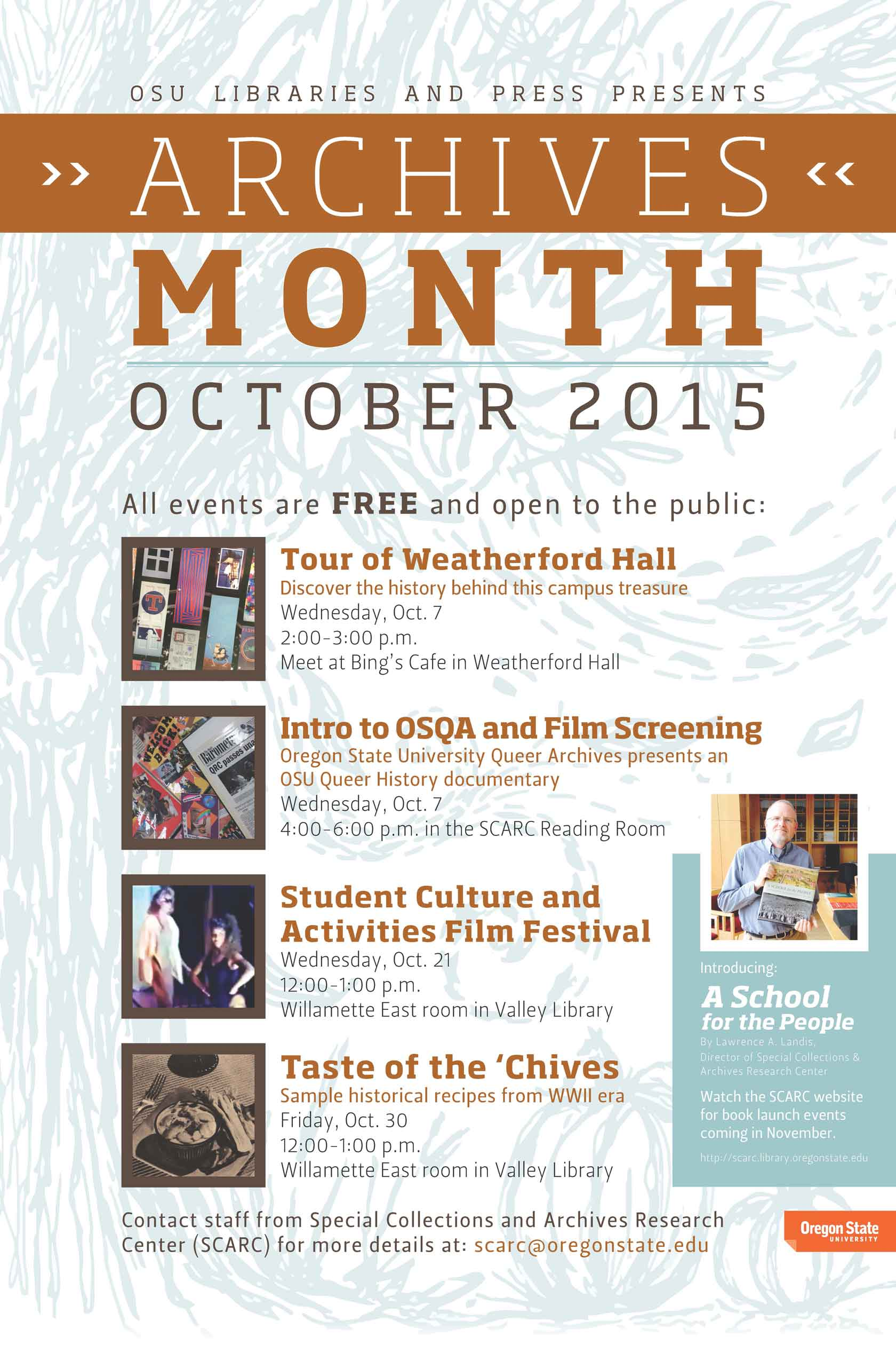 Oregon Archives Month - October 2015