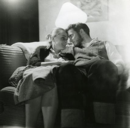 Peter and Julia Pauling, 1956.