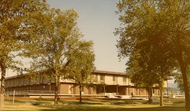 Peavy Hall 1972