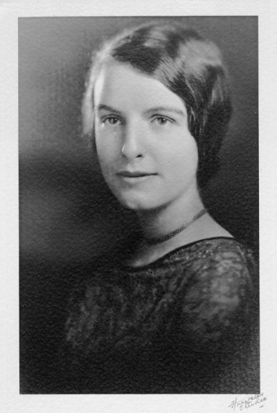 Helen Plinkiewisch, 1920s.