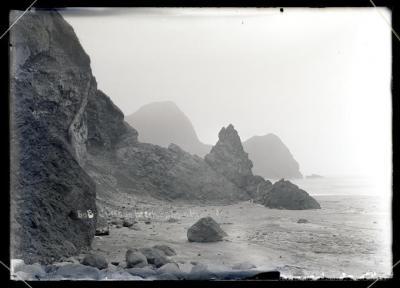 Cliffs on Beach, Salmon River Bay, c. 1910