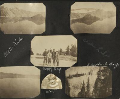 Evelyn M. Raymond Photograph Album, circa 1920-1930