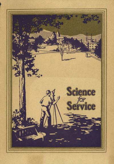 Science for Service, June 1926. From the Illustrated Booklets (PUB 488).