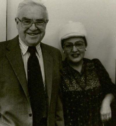 Thomas and Margaret Meehan, ca. 1980.