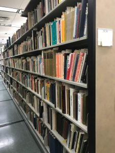 Pauling's library shifted and now located next to the other rare books collections