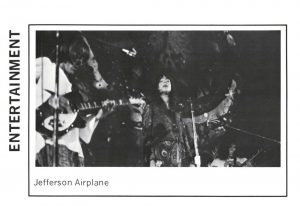 Image from the concert in the 1970 Beaver Yearbook