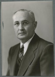 William Donald Wilkinson (President's Office Photographs, 1947)