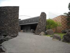 Exterior view of the Museum at Warm Springs
