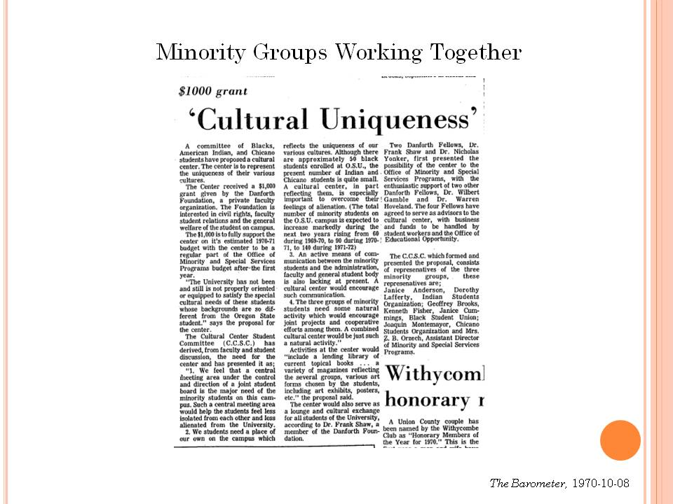 Oregon Multicultural Archives Blog | Assisting in preserving the ...