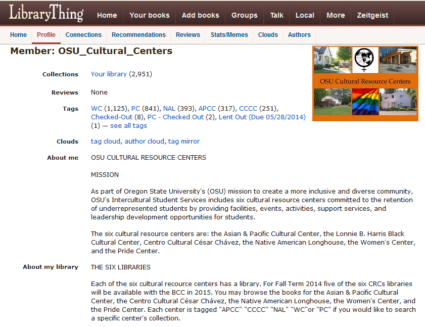 OSU CRCs Libraries Online Catalog