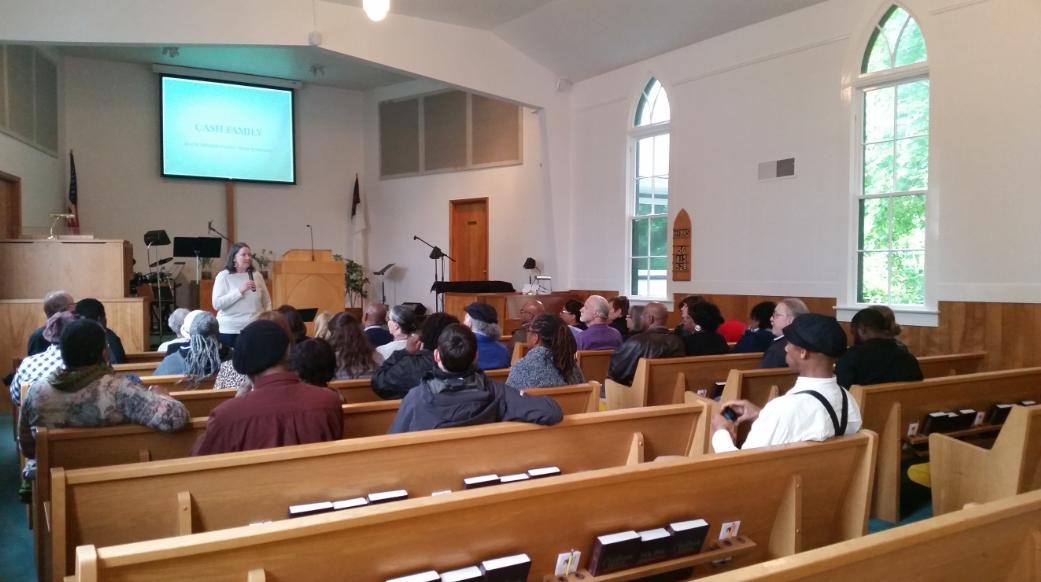 Ginny Mapes, Helvetia Community Church, Hillsboro