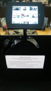i-pad listening station
