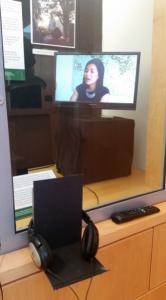 TV listening station