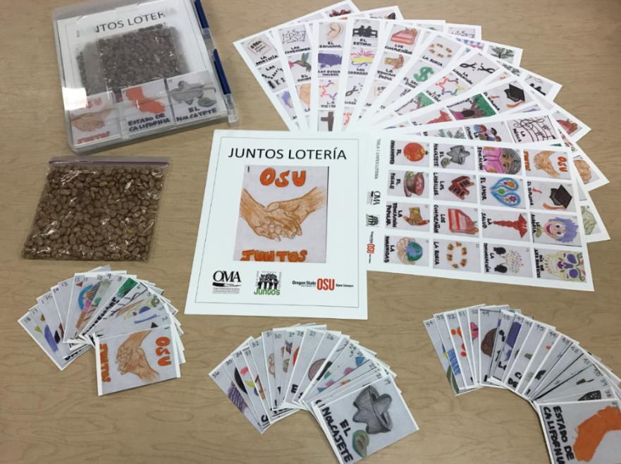 OSU Juntos Lotería Set