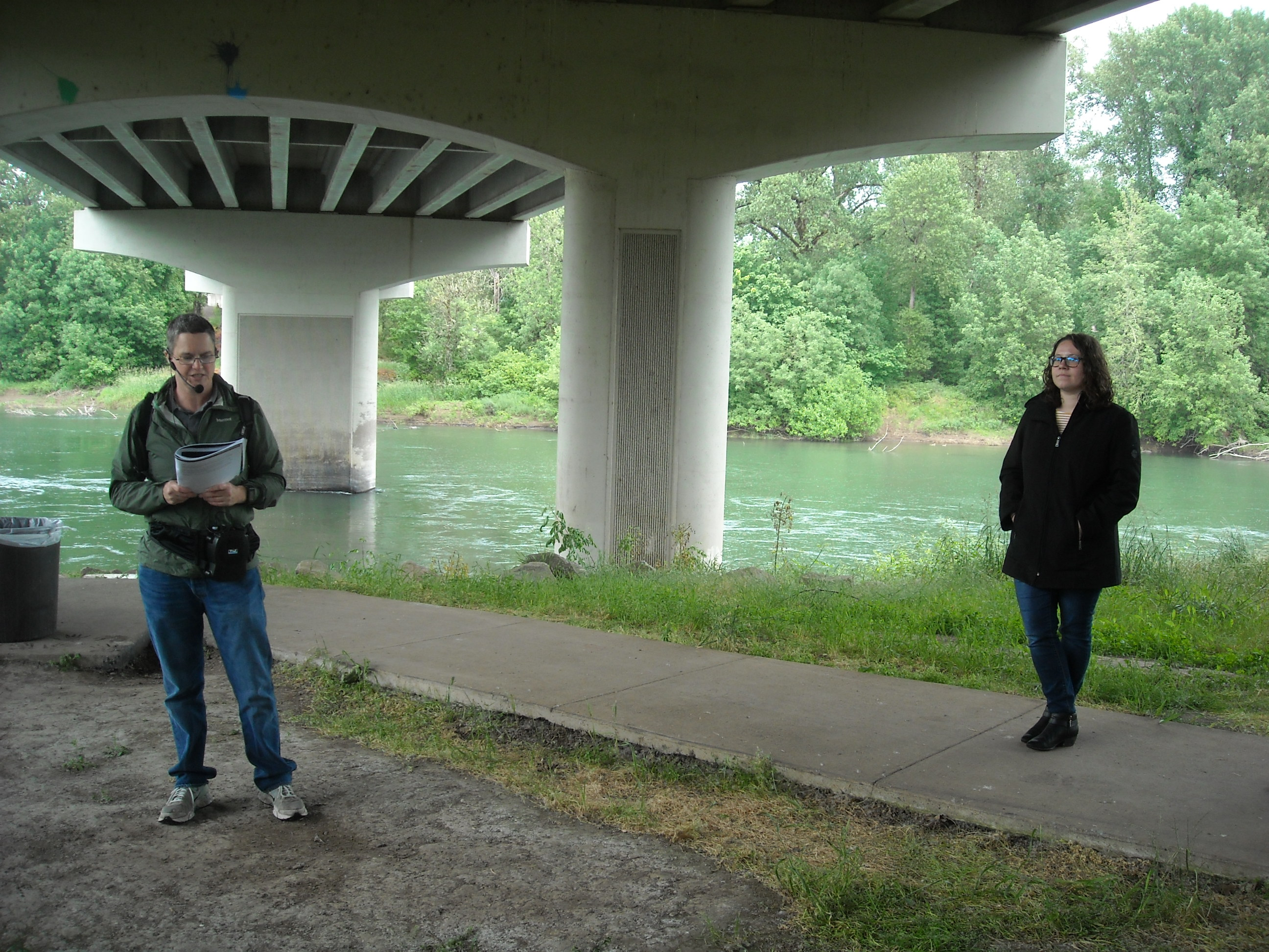 "A story about the ""voice"" of the Willamette River"