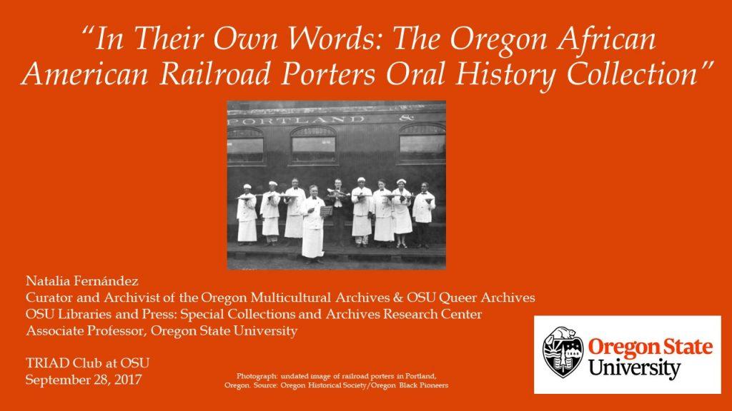 the oma presents at the osu triad club | oregon multicultural, Presentation templates