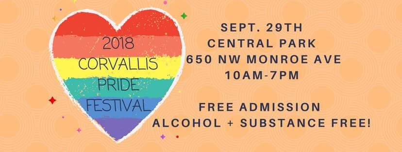 Pride Festival 2018 logo