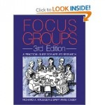 focus group book--krueger