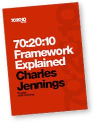 charles jennings 70-20-10 framework