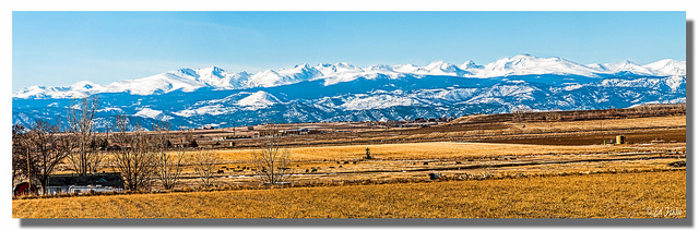 front range of the rocky mountains