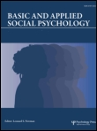 Basic and applied social psychology cover