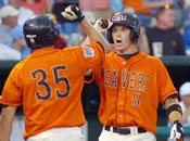OSU Beavers in 2006 College World Series.
