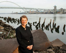Gail Achterman is the executive director of the Institute for Natural Resources