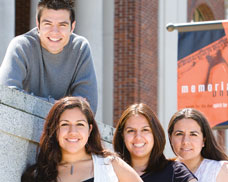 All four of the Cabarrubias siblings attend OSU