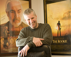 "Mike Rich wrote the script for ""Finding Forrester"" and ""The Rookie"""
