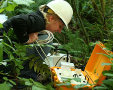 OSU is developing a wireless sensor system for forests