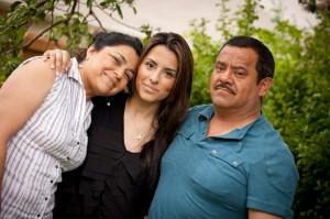 La familia Casas