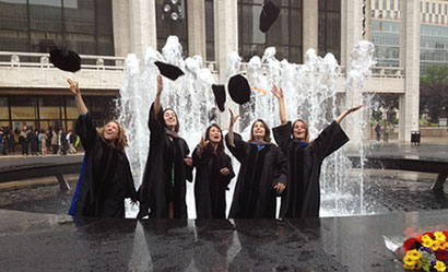 Ross Students Celebrate in the Big Apple - Vet Gazette