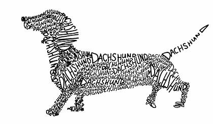 dachshund-art