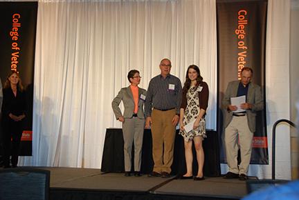 Dr. Sheri Morris and Mr. John Maddigan Scholarship - Dr. Sheri Morris, Mr. John Maddigan, Morgan Damm