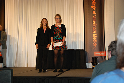 Kermit and Mildred Peterson Scholarship - Sue Tornquist, Jacqueline Houser