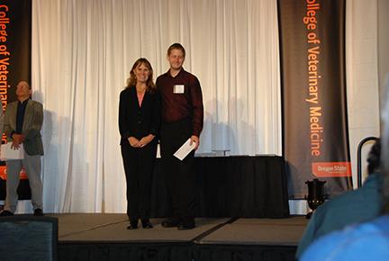 Rogue Valley Veterinary Medical Association Scholarship -Sue Tornquist, Brett Bemer