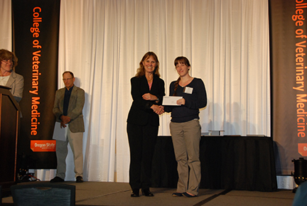 Charles and Karen Short Veterinary Pharmacology Scholarship -Sue Tornquist, Claire Lemons