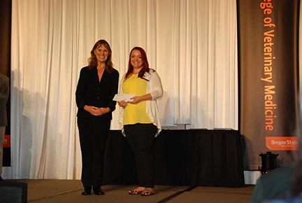McKenzie Cascade Dog Fanciers Scholarship - Sue Tornquist, Reese Douglas