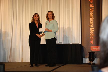 Dr. Ed Scott Memorial Scholarship - Sue Tornquist, Amy Harbord