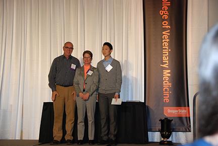 Willamette Valley Hospital Volunteer Service Award - Mr. John Madiggan, Dr. Sheri Morris, Belle Tiau