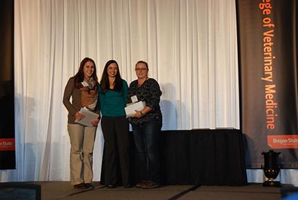 Northwest Equine Practitioners Association Award - Jana von Borstel, Dr. Lindsey Moneta, Shawna Westmark