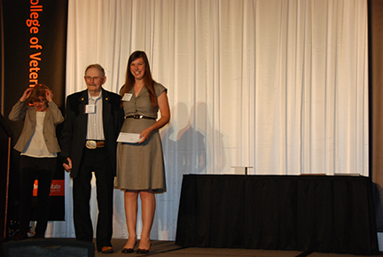 Good Boy Barney Award in Honor of Michael Harms, DVM - Dr. Michael Harms, Michelle Janik
