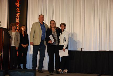 Carolina Cabaret Memorial Scholarship - Dr. Mike Huber, Christy Sandquist, Mrs. Carole Bradford
