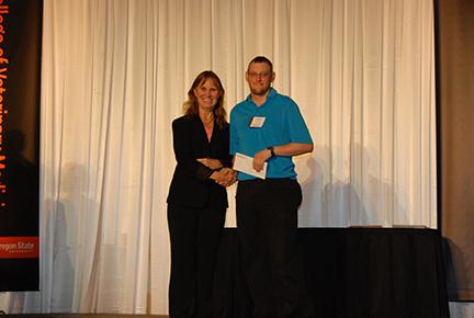 Columbia River Pembroke Welsh Corgi Club Student Assistance Award - Sue Tornquist, Gregory Clausen
